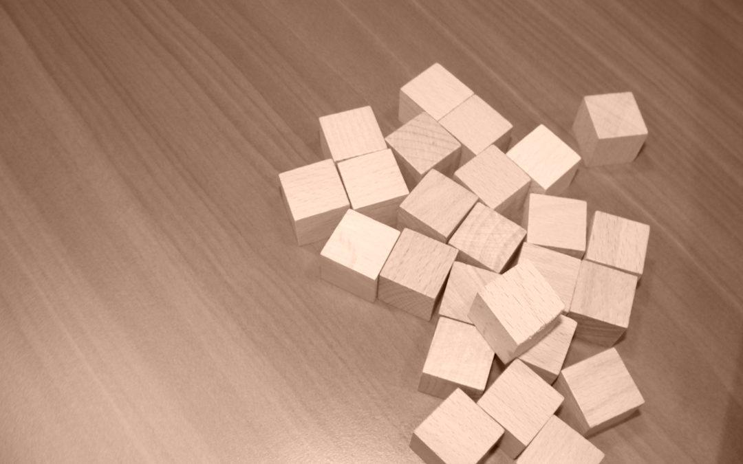 Le jeu des cubes, la gestion des risques